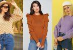buy latest oversize women pullovers turkish 2021
