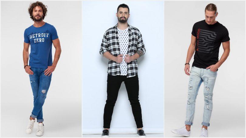 95302e35485b2 اجمل 10 موديلات ملابس رجالية تركي كاجوال صيف وعيد 2018 - 2019