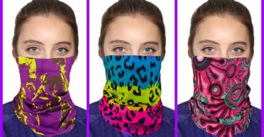 Women face bandanas like a Protection mask