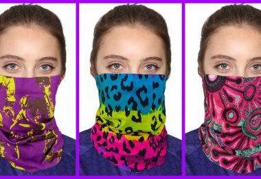 Women face bandanas like a Protection mask