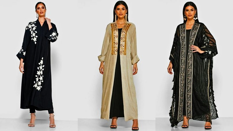 The latest 20 models of Gulf Abayas for Eid 2020