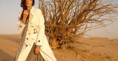 صحراء دبي مصدر الهام ديانا آرنو في مجموعة ربيع وصيف 2019