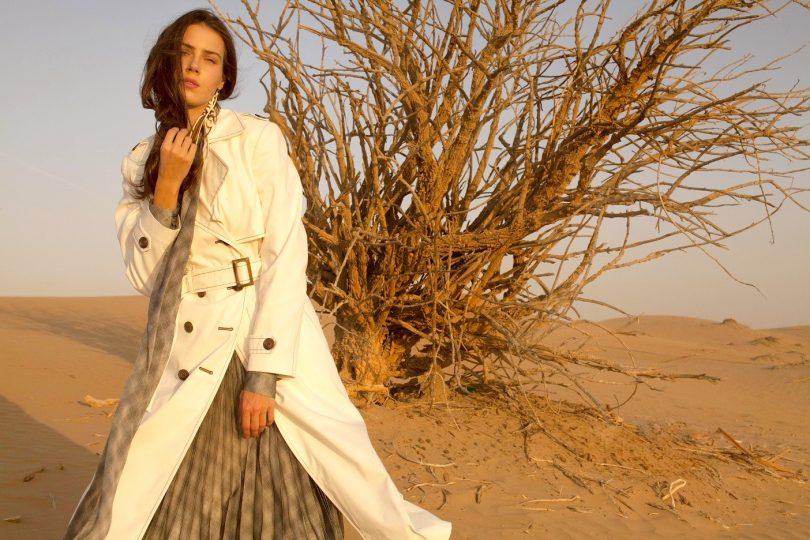 a250c27718366 صحراء دبي مصدر الهام ديانا آرنو في مجموعة ربيع وصيف 2019