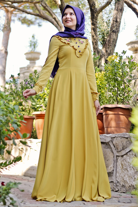 fcea8107638a9 المصدر للشراء  Turkish Dresses For veiled Womens