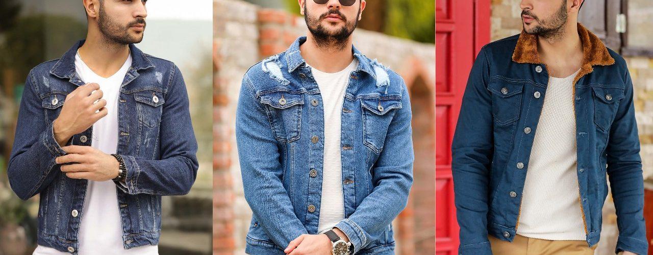 Buy 15 Turkish casual denim jeans jacket for men 2021