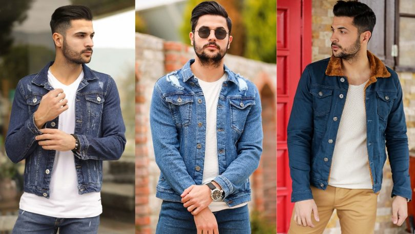 Buy 15 Turkish casual denim jeans jacket for men 2021
