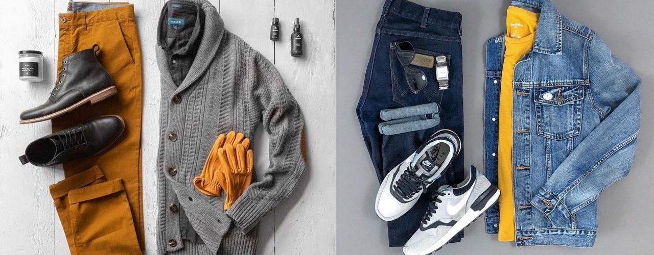 Winter Men's Casual Clothing Sets 2021