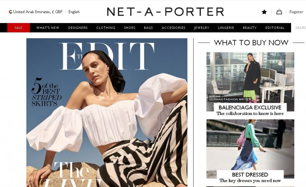 net-a-porter - نت اي بورتر